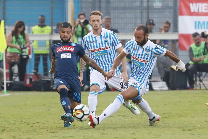Serie A, Spal-Napoli 2-3, è la sesta vittoria consecutiva