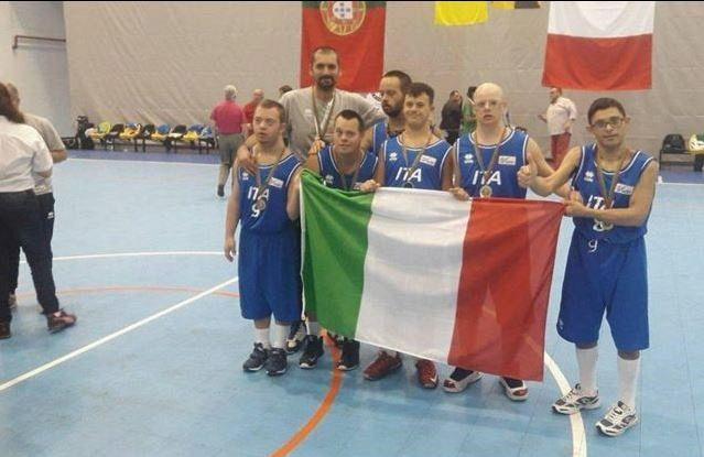L'Italia dei ragazzi down vince l'Europeo di basket