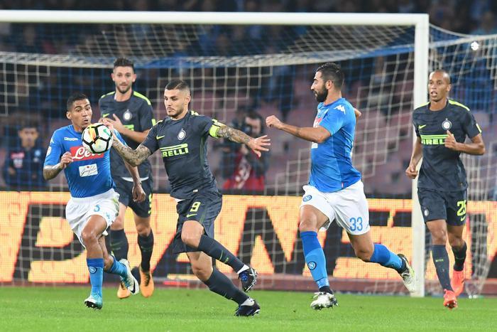 Serie A: Inter frena la corsa del Napoli, al San Paolo finisce 0-0