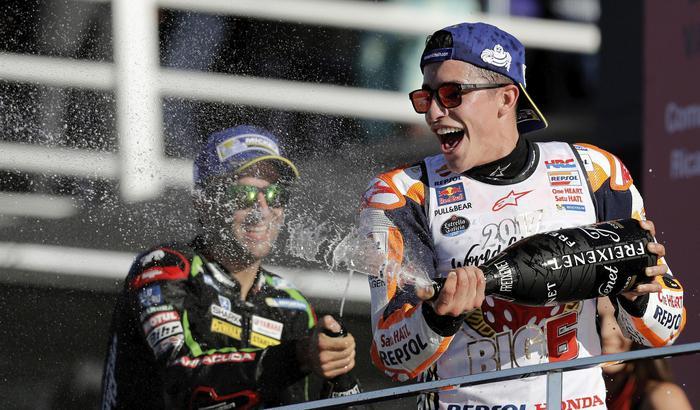 MotoGp, Marquez a Valencia vince il titolo mondiale