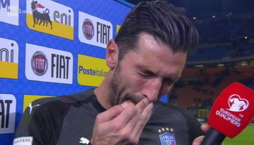 """Buffon: """"Dispiace sia finita così, grazie a tutti"""""""