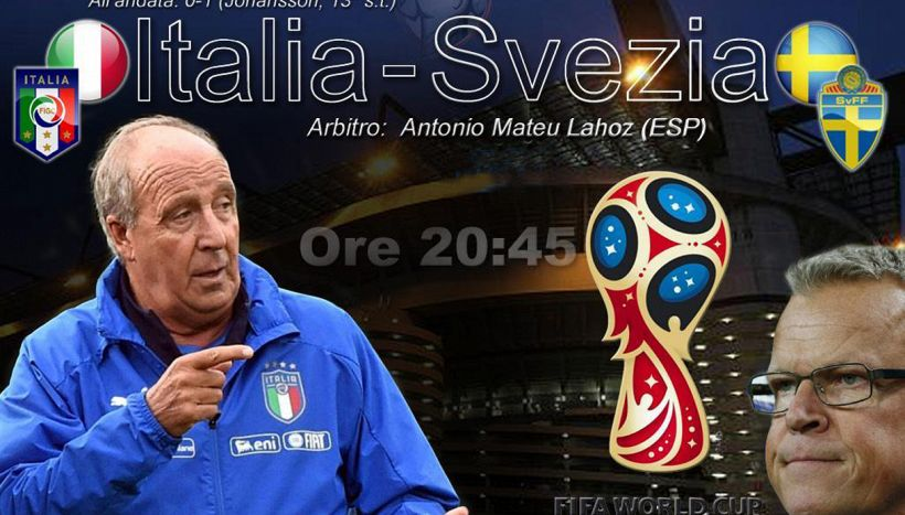 Italia-Svezia: ultima chiamata per i Mondiali. LA DIRETTA
