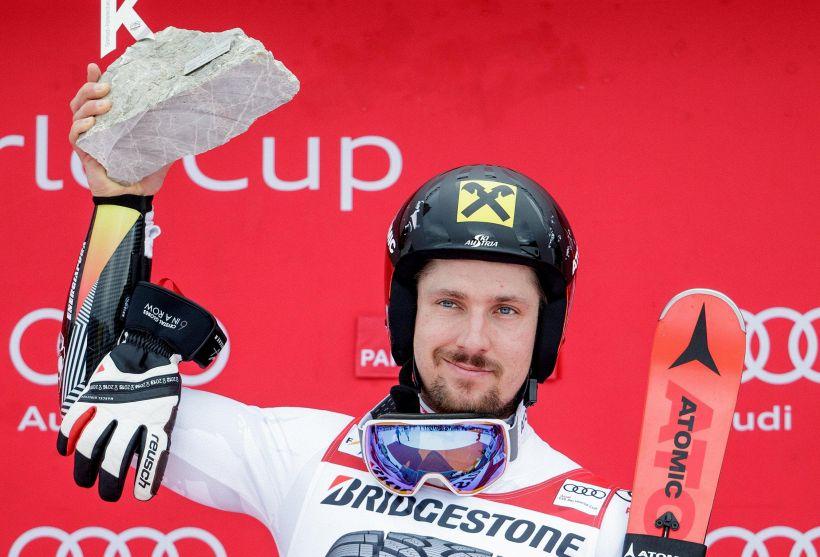 Sci cdm,Hirscher vince a Garmisch e mette le Olimpiadi nel mirino