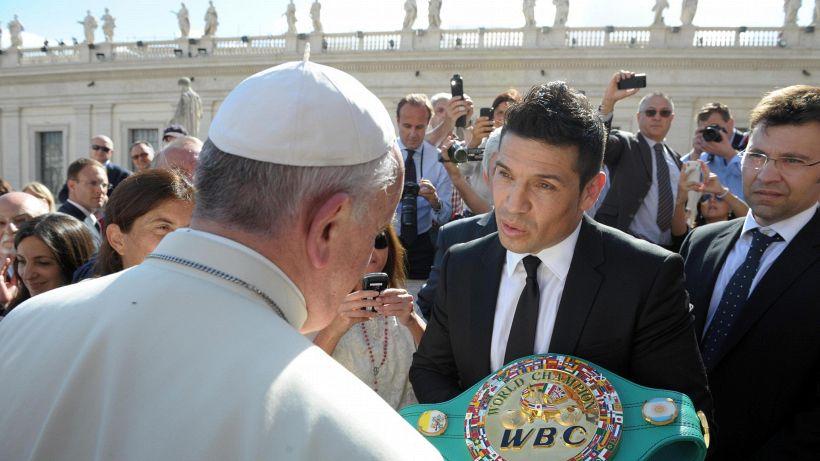 Boxe in Vaticano: 'Mondiale della Pace' dal Papa