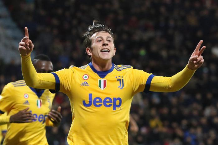 Cagliari Juventus 0-1 Decide un gol di Bernardeschi