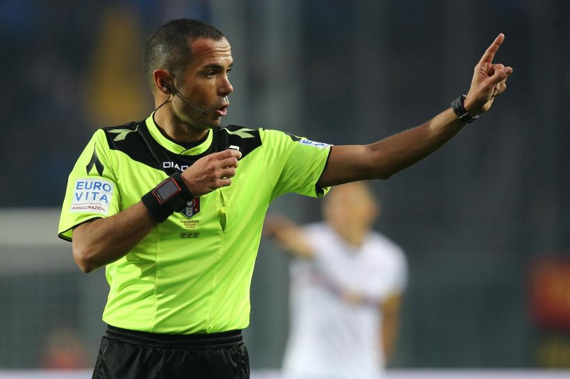 Serie A: arbitri della 24esima giornata, alla Juve un napoletano