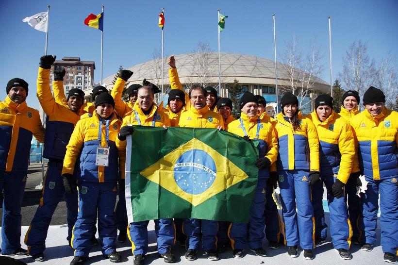 Olimpiadi: choc termico per il bob Brasile, da 40 a -12