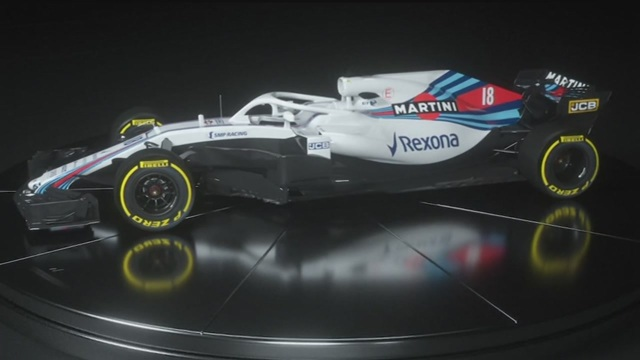 F1, presentata la nuova Williams FW41