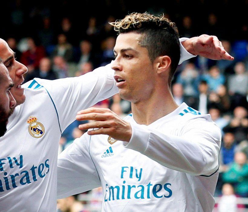 Doppio Cristiano Ronaldo, il Real passa a Eibar