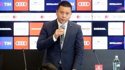 Milan: per il derby arriva il presidente Li