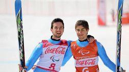 Paralimpiadi, bronzo per l'Italia in discesa