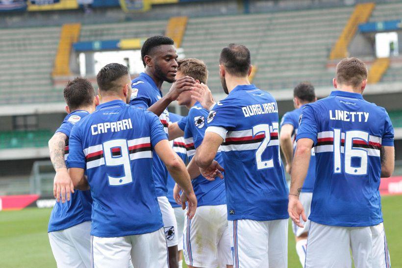 Serie A: Chievo-Sampdoria 2-1