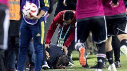 Turchia, tecnico Besiktas colpito con un seggiolino
