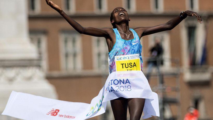 Maratona di Roma: vincono Birech e Tusa