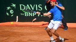 """Coppa Davis, Seppi: """"Mi dispiace per la sconfitta"""""""