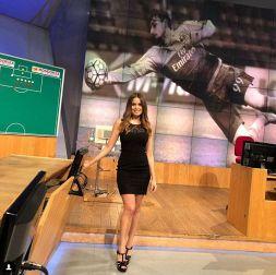 Lady Dybala, esordio in tv a Telelombardia