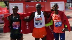 Maratona Londra, vince keniano Kipchoge