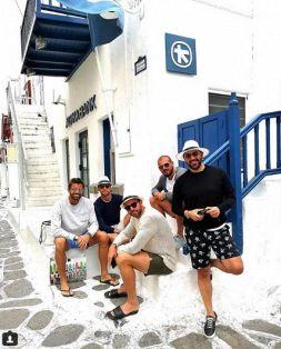 Mykonos: quanti juventini in vacanza!