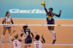 Pallavolo femminile, Italia-Polonia 2-3