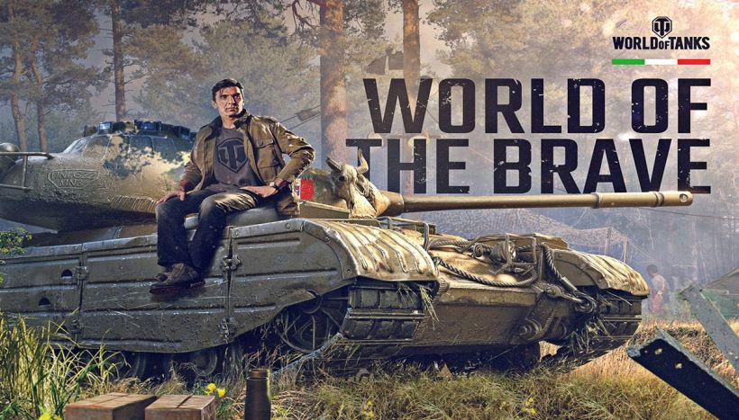 World of Tanks: Buffon scende in campo, sarà comandante di guerra