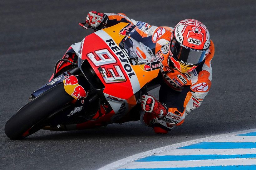 MotoGp: Spagna, terze libere a Marquez
