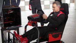 Jean Alesi, ex pilota Ferrari, presenta l'eSports Academy