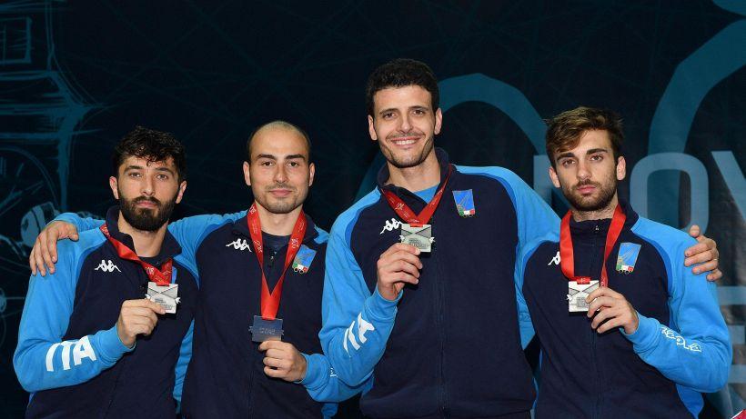 Scherma: Italia argento europeo nel fioretto