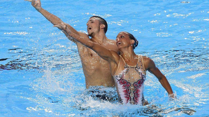 Nuoto sincronizzato:oro Minisini-Flamini