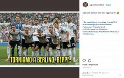 Germania fuori dal Mondiale: italiani scatenati sul web