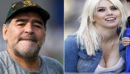 """Dall'Argentina: """"Notte di fuoco tra Maradona e Wanda Nara"""""""