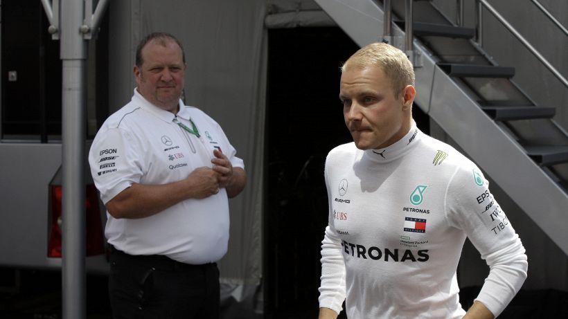 F1, Bottas anche nel 2019 con Mercedes