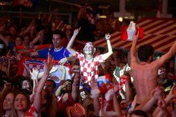 Mondiali, notte di festa in Croazia