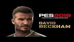 """PES 2019: la Konami ci regala """"un giorno con Beckham"""""""