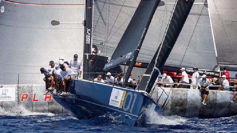 Vela: Puerto Portals, Azzurra resta 3/a