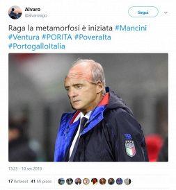 Delusione Italia, il web si scatena