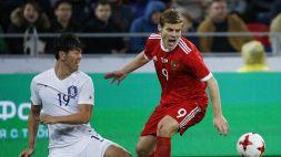 Russia, notte brava per Kokorin e Mamayev