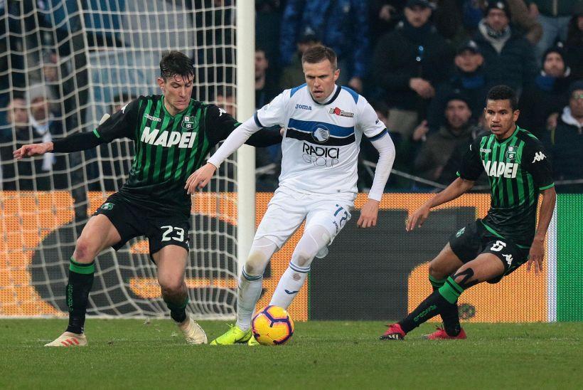 Serie A: Sassuolo-Atalanta 2-6