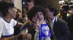Boca, a Madrid c'è anche il sosia di Maradona