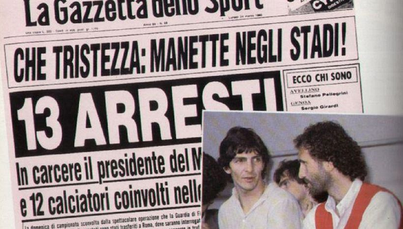 Accadde oggi, sentenza Totonero condanna il Milan in B