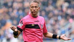 Putiferio social sull'arbitro di Juve-Milan: Non era il caso