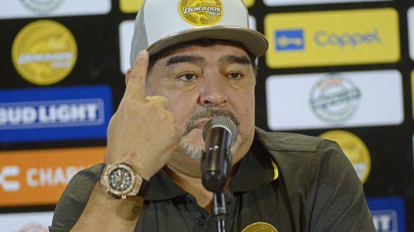 """Ansia per Maradona: """"Non sto morendo"""""""