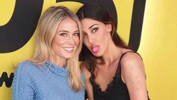 Diletta Leotta e Belen Rodriguez, selfie da record