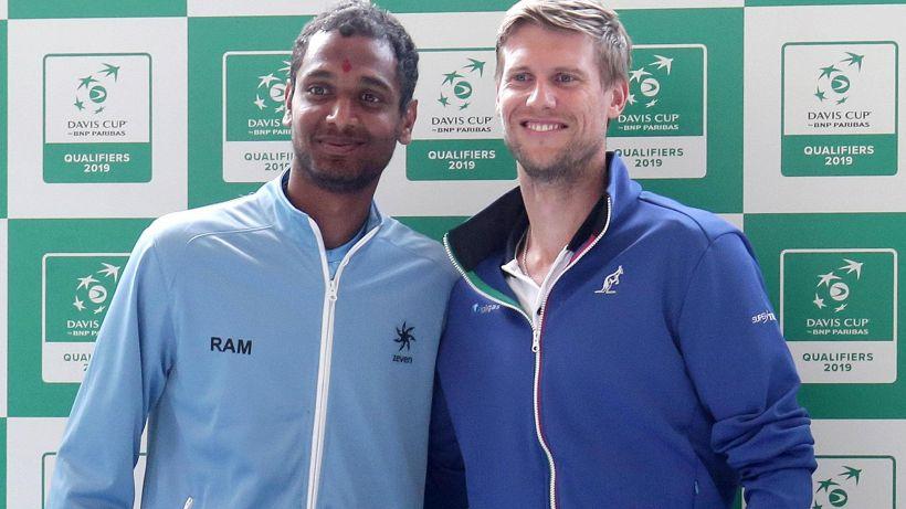 Coppa Davis, Italia in vantaggio per 1-0 sull'India