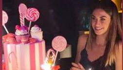Melissa Satta, il suo primo compleanno dopo Kevin Prince Boateng
