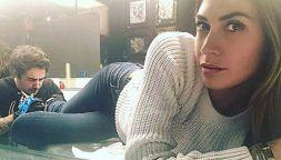 Melissa Satta senza fede e con un nuovo tatuaggio: addio Boateng