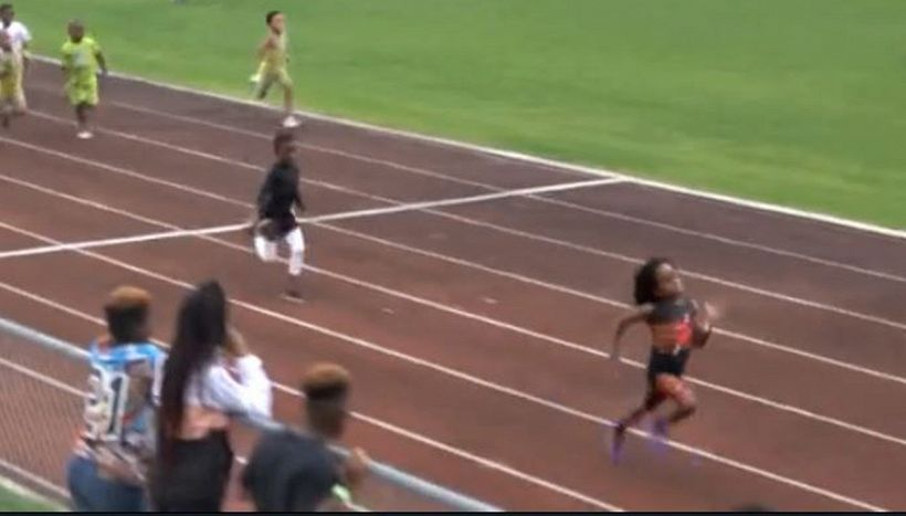 Rudolph Ingram, baby fenomeno dell'atletica sfida Bolt