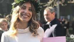 Valentina si è laureata per la gioia di papà Allegri
