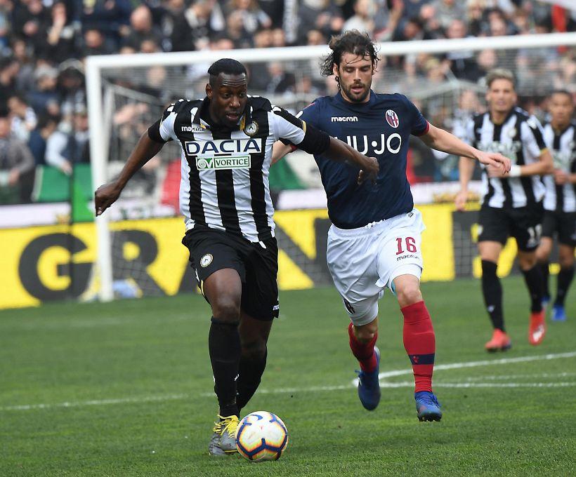Serie A: Udinese-Bologna 2-1