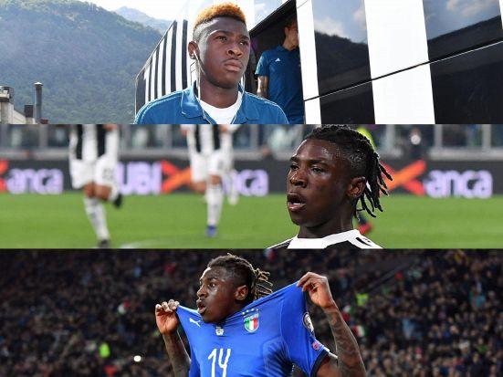 Kean futuro di Juventus e Italia: Moise sta bruciando le tappe