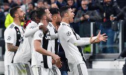 Juventus-Atletico 3-0 le pagelle: Cr7 marziano. Can e Berna top